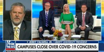 Jerry Falwell Jr. Tells Fox Viewers: 'So Many Are Overreacting' To The Coronavirus