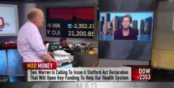 Elizabeth Warren Pushes Real Stimulus On Cramer