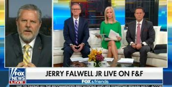 Jerry Falwell Jr. Upset That Voters In The 'D.C. Suburbs Now Control Every Virginia Statewide Election'