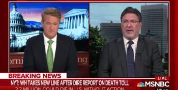 Nichols: People Will Be Suspicious Of Trump's Coronavirus Plans