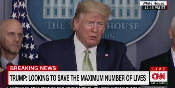 Trump Reverses Himself Completely On COVID-19 : 'A Lot Of People Are Going To Die'