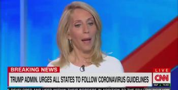 Dana Bash Presidentifies Donald Trump: 'He's Being The Leader People Yearn For'