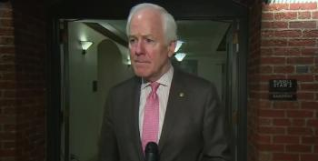 Sen. John Cornyn: China Is To Blame For Coronavirus Because 'They Eat Bats, Snakes, And Dogs'