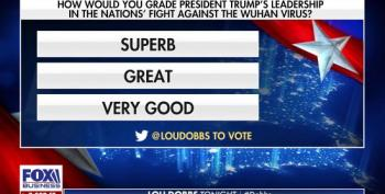 Lou Dobbs' Poll Asks If Trump's Response To COVID-19 Has Been 'Superb, Great Or Very Good'