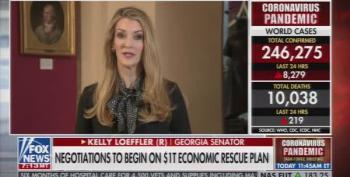 Kelly Loeffler Blames 'Third-Party' Advisors For Well-Timed Stock Dump