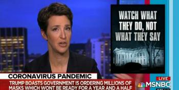 Rachel Maddow Warns Networks Of The Dangers Of Airing Trump Pressers Live