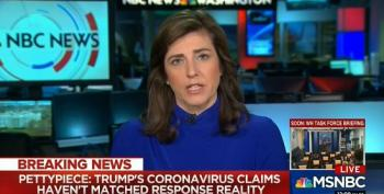 NBC Reporter: Trump 'Putting His Credibility At Risk' During COVID-19 Briefings