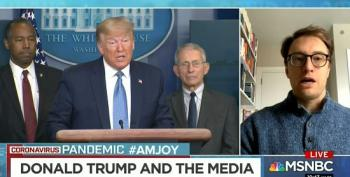 Gabriel Sherman: Trump 'Furious And Frustrated' With Cuomo 'Hijacking The News Cycle'