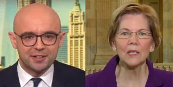 Elizabeth Warren Tears Into Bloomberg Reporter Over Blaming Stimulus Stall On Dems