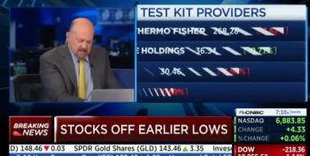 Jim Cramer: 'We May Have To Give People A Star' To Label Uninfected