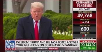 Trump Demands Governors Seeking Coronavirus Aid 'Be Nice To Me Or Else'