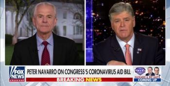 Peter Navarro Attacks Pelosi For Supposedly Politicizing COVID-19 Crisis