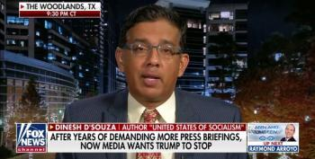 Dinesh D'Souza: Coronavirus Outbreaks 'Mainly In The Blue States'