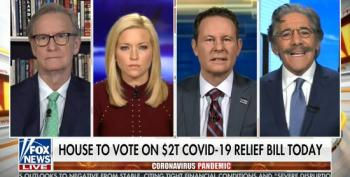 Fox And Friends Pretends Trump Is Sympathetic To NY's Need For Ventilators.