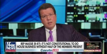Rep. Massie Shrugs Off Risking Fellow House Members' Lives To Fox's Neil Cavuto