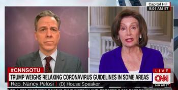 Nancy Pelosi: While 'Deadly' Trump 'Fiddles, People Are Dying'
