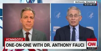 Dr Fauci Says Coronavirus Deaths In US Could Top 100,000