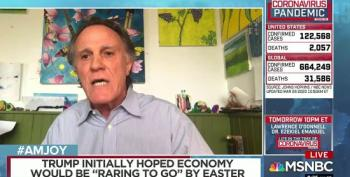 Frank Schaeffer Blasts Evangelicals For 'Renting Out Jesus' To 'Moronic Monster' Trump