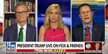 Trump's Fifty-Four Minute Call To Fox And Friends: Attacks Pelosi As 'Sick Puppy'