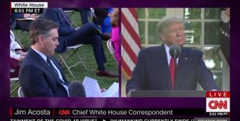 Jim Acosta Triggers Donald Trump