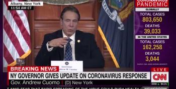Andrew Cuomo: My Brother, CNN's Chris Cuomo, Is Positive For COVID
