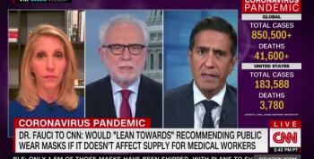CNN Doctor Sets Record Straight On Wearing Masks In Public