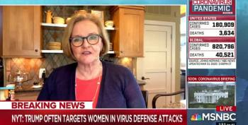 Claire McCaskill Slams Trump's Insecurity-fueled Attacks On Strong Women