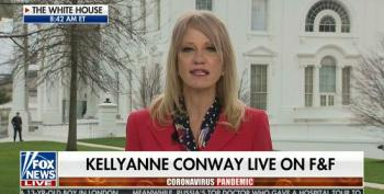 Kellyanne Wonders Why Joe Biden Won't 'Help' The Trump White House