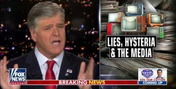 Hannity Threatens To Sue 'The Media Mob' For Reporting On The Dangers Of His Coronavirus Lies