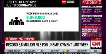 EXPLOSIVE: 6.6 Million Americans Applied For Unemployment Benefits Last Week