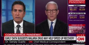 Dr. Sanjay Gupta Furious About Gov. Kemp's Lies About How COVID-19 Is Spread