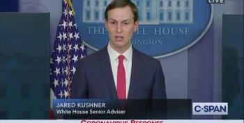 Jared Kushner Rattles Off Meaningless Buzzwords During COVID-19 Presser