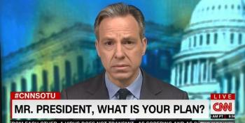 Jake Tapper Slays Trump's Incompetence: 'This Not About Winning A News Cycle On Fox'