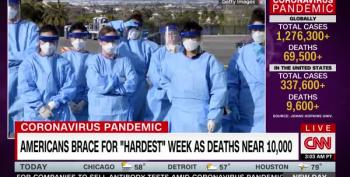 Pandemic Expected To Peak This Week