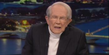 Pat Robertson Wants The Church To 'Stop Cowering' And 'Command The Virus To Leave Us'