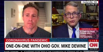 Ohio GOP Gov. DeWine Actually Contradicts Trump On Vote By Mail