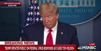 All Of A Sudden Trump Is Touting Zinc For Coronavirus