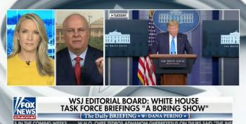 Karl Rove Attacks The Press To Whitewash WSJ Op-Ed Slamming 'Trump's Wasted Briefings'