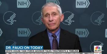 Dr. Fauci Debunks Right Wing Death Toll Conspiracies