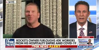 Billionaire NBA Owner Tells Fox He Did His 45,000 Employees 'A Favor' Laying Them Off So Quickly During Pandemic