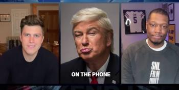 Alec Baldwin's Trump Calls Into Remote Edition Of SNL's Weekend Update