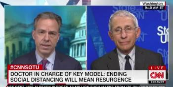 Jake Tapper Pushes Dr. Fauci: South Korea Did So Much Better On COVID Than US