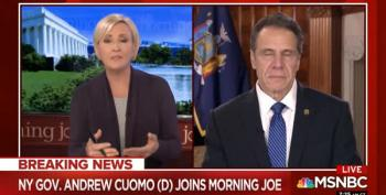 Cuomo Disses 'King' Trump:  He Himself Put Governors In Charge