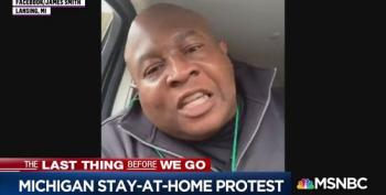 Michigan Health Care Worker Blasts 'Idiots' Protesting Stay-home Order
