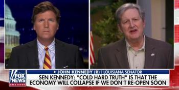 GOP Sen. John Kennedy: 'We Gotta Reopen' Country And Virus 'Is Gonna Spread Faster' When We Do