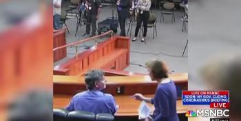 Val Demings And Joy Reid Wonder Why Florida's Surgeon General Got The Hook