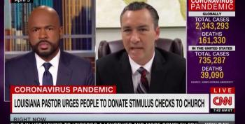 Pastor Defends Asking Parishioners To Donate Their Stimulus Checks. It Did Not Go Well.