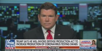 Fox News' Bret Baier Bashes Trump's 'Evolution' On COVID19 Testing