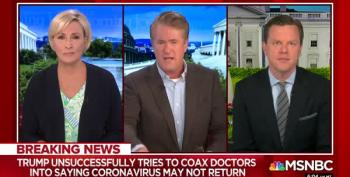 RANT: Scarborough Rips Trump's Refusal To Prepare For Fall Virus Threat