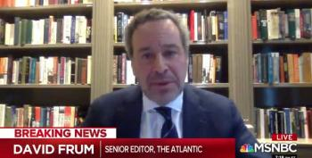 David Frum Says Trump Will 'Take The Punch' Because Those Who Die Will Mostly Be Democrats